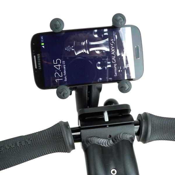 Smartphone houder met bevestiging